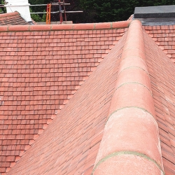 Roof Tiles Into RidgeRT
